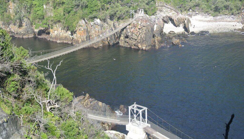 Knysna Hängebrücke
