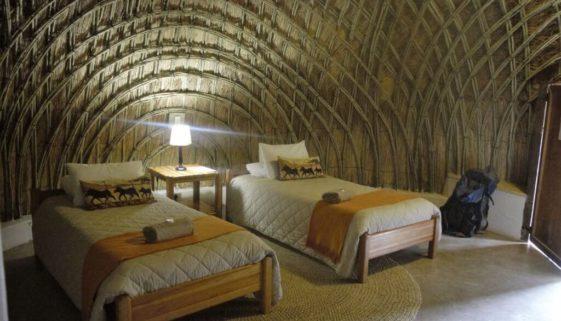 Mlilwane Wildlife Sanctuary Rundhütten Zimmer