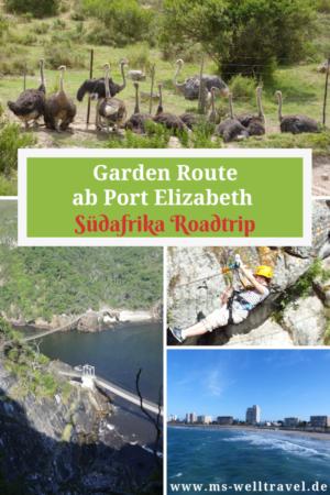 Bericht über die Garden Route