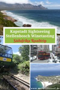 Bericht über Kapstadt und Stellenbosch