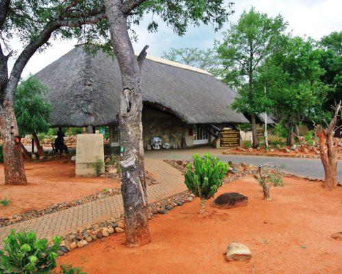 Eingang zum Krüger National Park