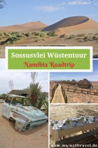 Bericht über die Wüste Sossusvlei