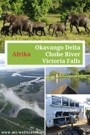 Bericht Okavango Delta Victoria Falls
