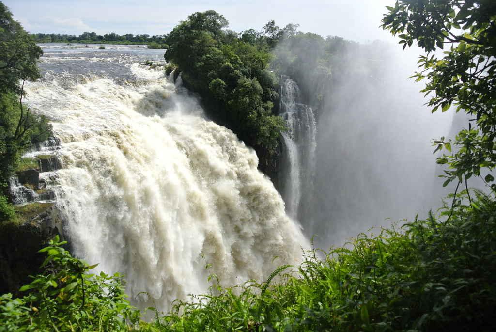 Aussichtsplattform Victoria Falls