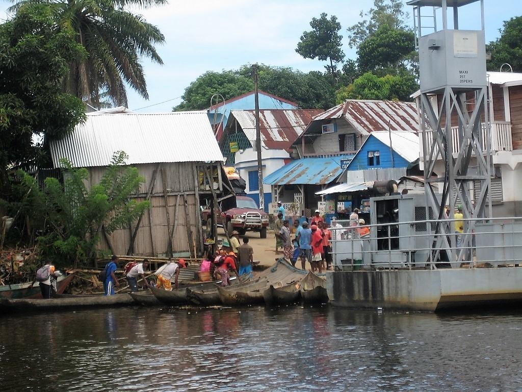 Hafen in St. Marie