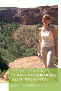 Reiseblogger reisen anders
