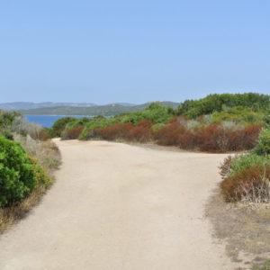 Weg zum Ende der Insel