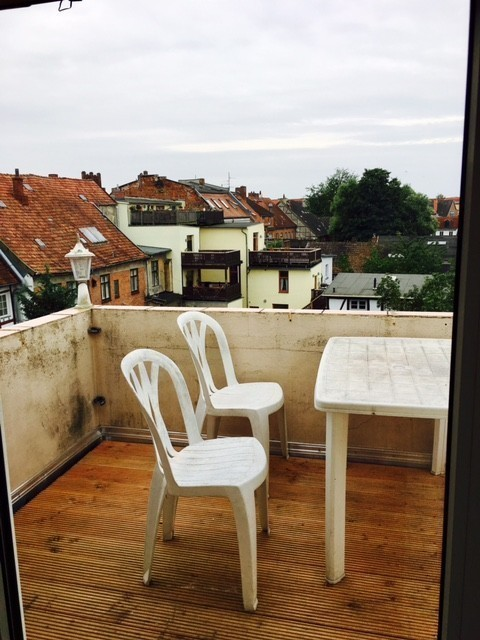 Dachterrasse in Wismar