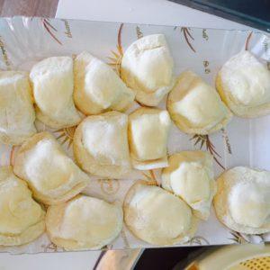 Frische gefüllte Pastataschen