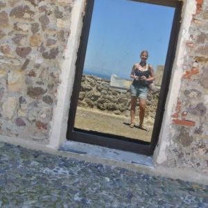 Marina auf der Burg in Castelsardo