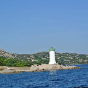 Leuchtturm am Ende von Sardinien
