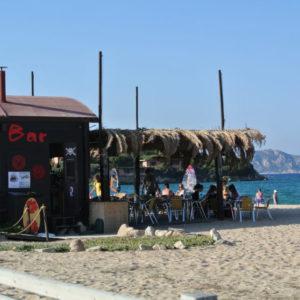Beach Bar auf Isola dei Gabbiani