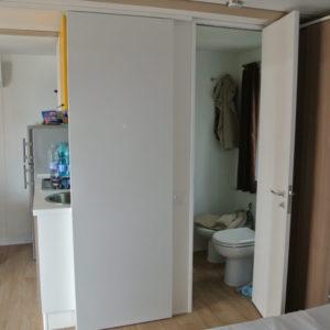 Küche und Bad der Natural Junior Suite