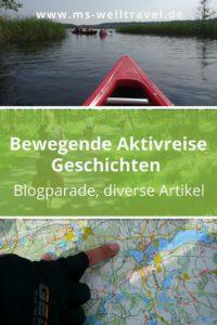 MSWellTravel Aktivreise Geschichten Blogparade