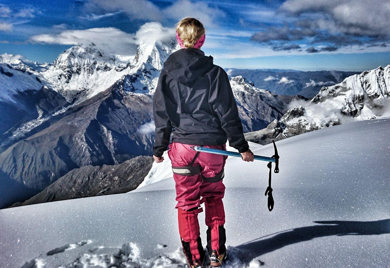 Bergbesteigung © Michi um die Welt