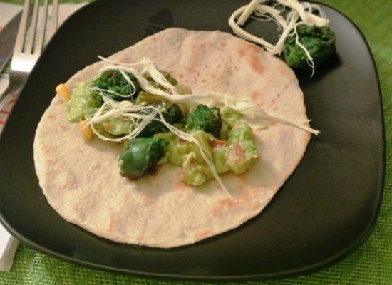 Mexikanisches Abendessen: Tortilla