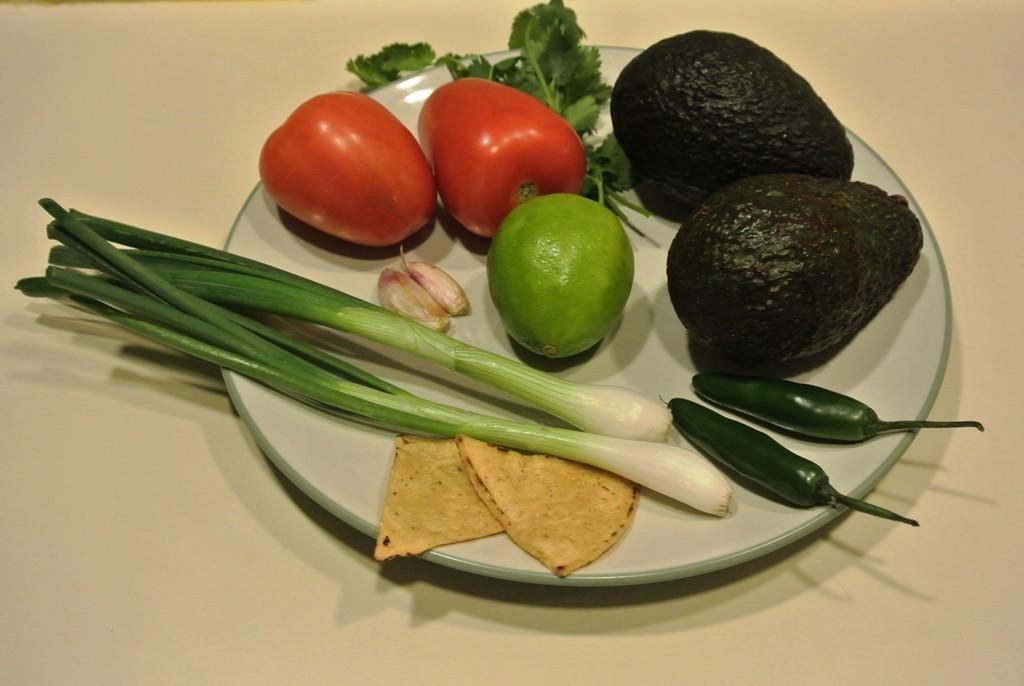 Mexikanisches Abendessen:Guacamole