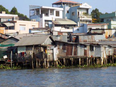 Südostasien Reise - FloatingMarket_MekongDelta