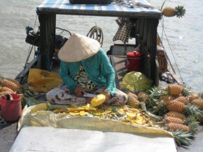 Südostasien Reise - FloatingMarket_MekongDelta3