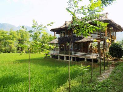 Südostasien Reise - Mai Chau Umgebung