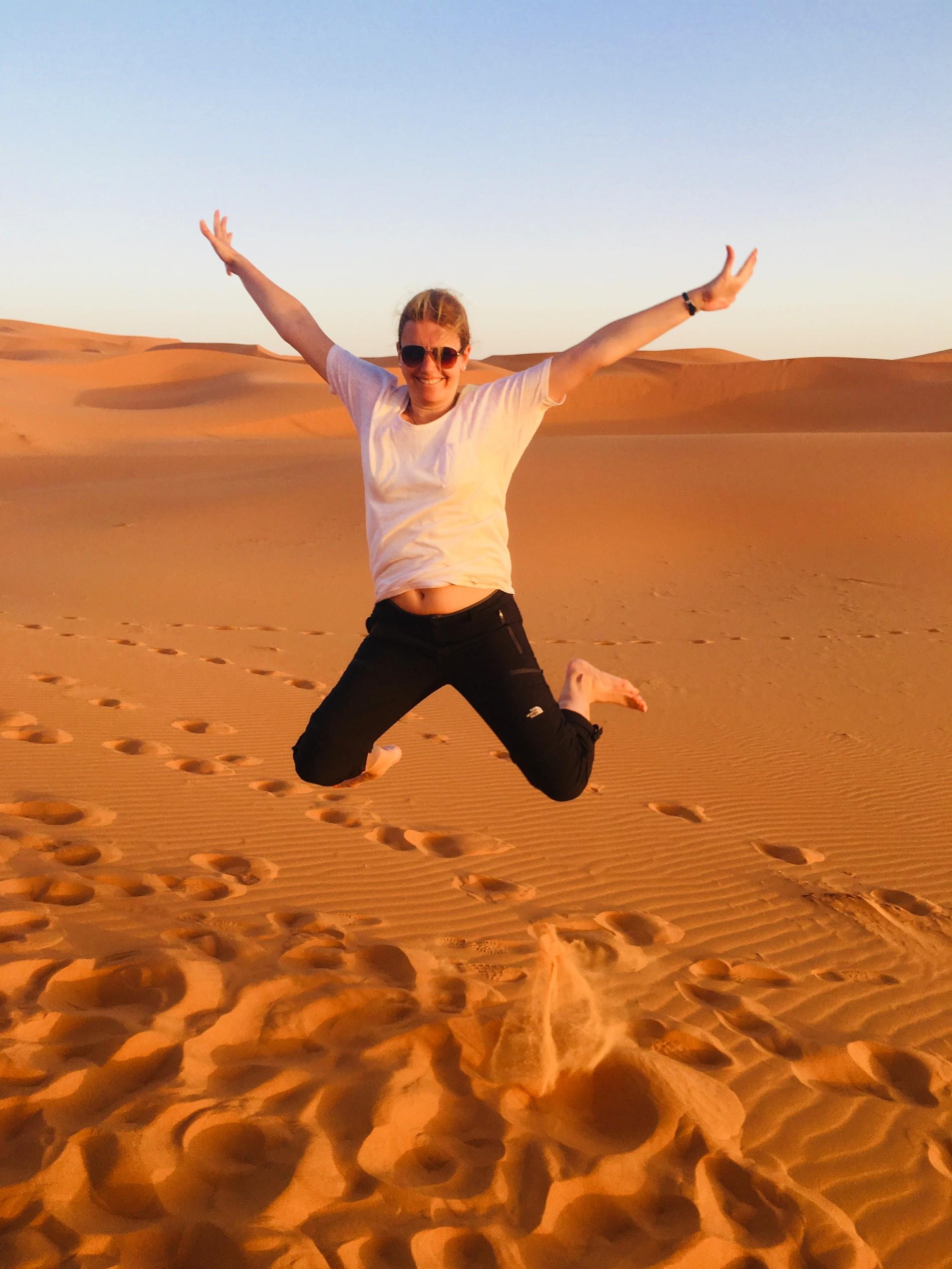 MSWellTravel Jump in der Wüste