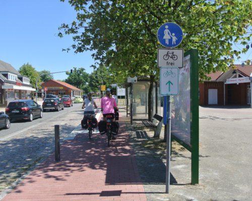 Fahrradweg-Kennzeichnung