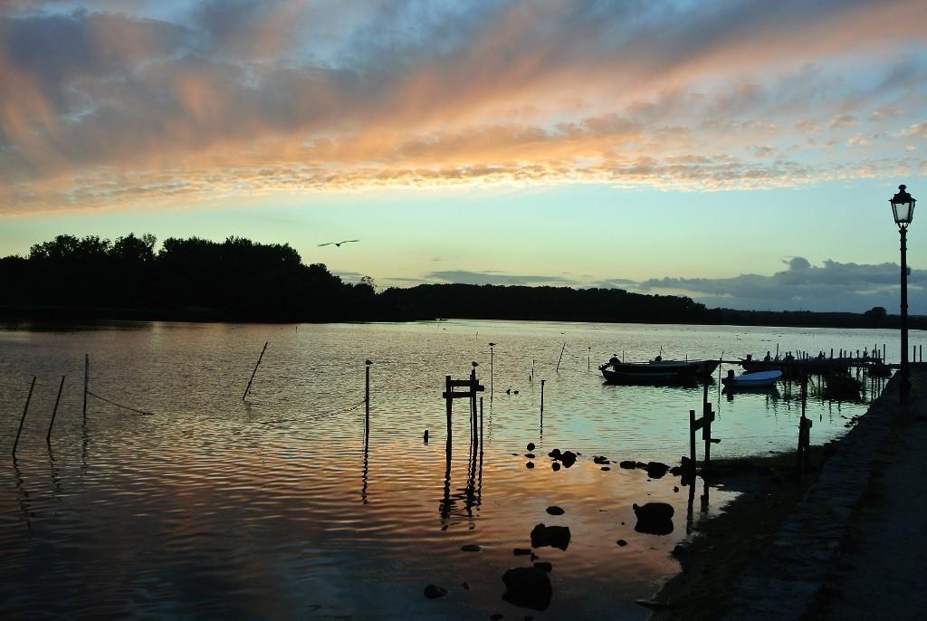 Neustadt i.H. Sonnenuntergang