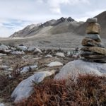 Wilde Landschaft in Tibet