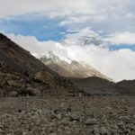 Der Mount Everest am Base Camp