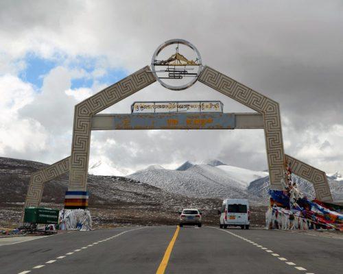 Das Tor zum Mount Everest Gebiet ca. 5200m