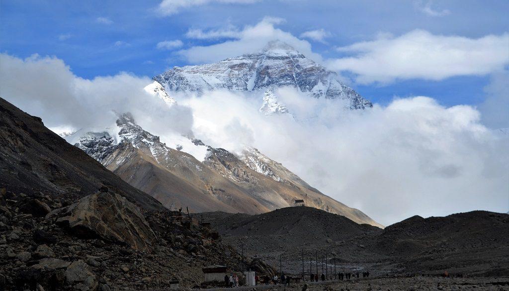Blick auf Mount Everest