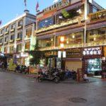 Lhasa am Abend