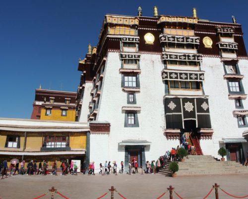 Dalai Lama Winter-Residenz bis 1950