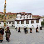 Marina im Kloster Gyantse Kumbum