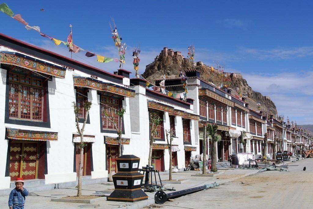 Aufenthalt im Kloster Gyantse Kumbum