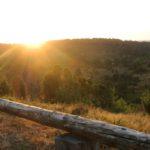 Sonnenaufgang Heide