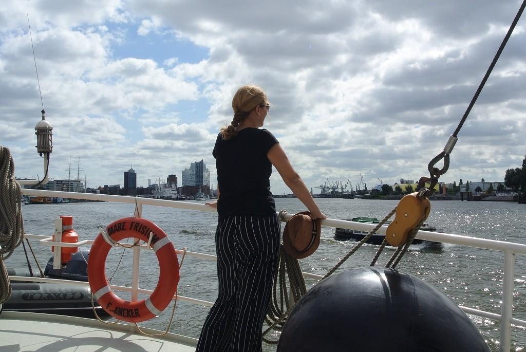 MS WellTravel Segeltörn entlang der Elbe