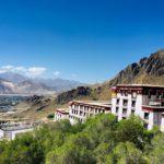Aussicht vom Kloster in Lhasa