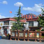 Hauptplatz von Lhasa in Tibet
