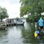 HydroBike Tour auf dem Wasser