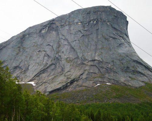 Felsen auf unserer Strecke
