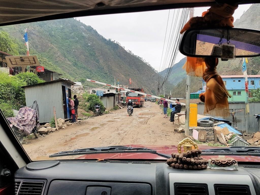 Grenze zu Nepal
