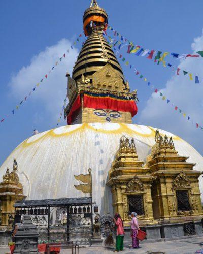 Swayambhu Tempel