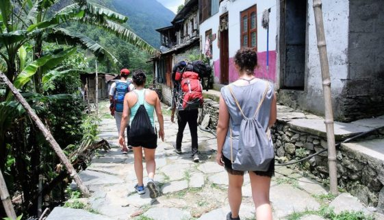 1 Tag Trekking in Nepal