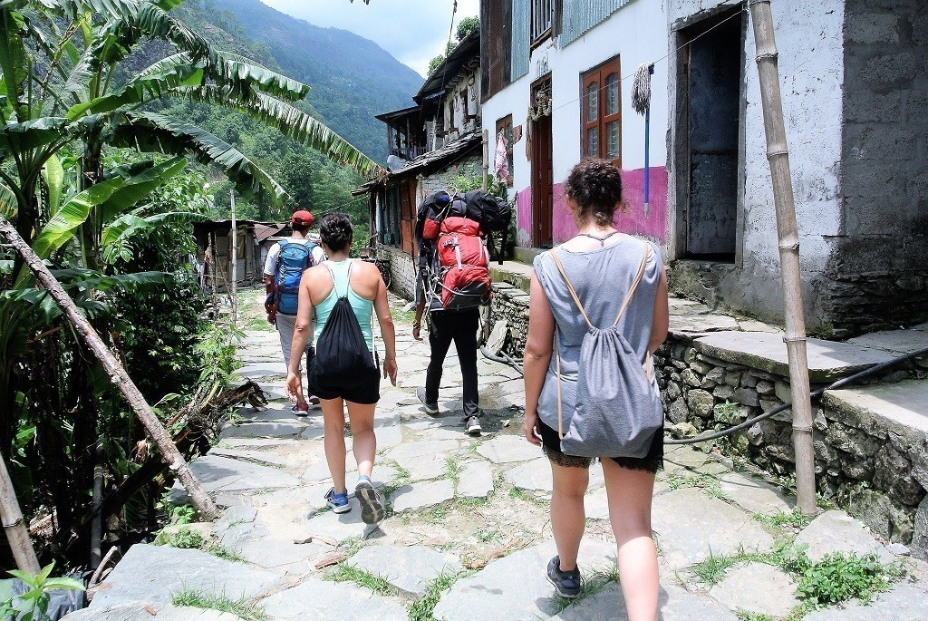 1 Tag Trekking in Nepal