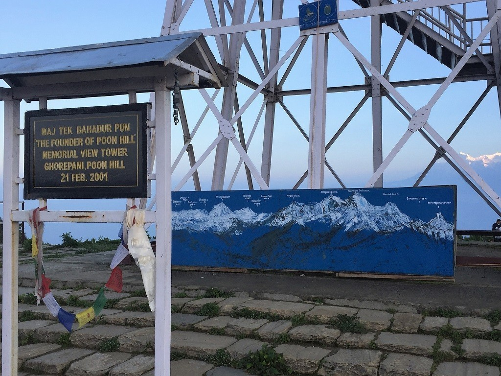 Information am Poon Hill