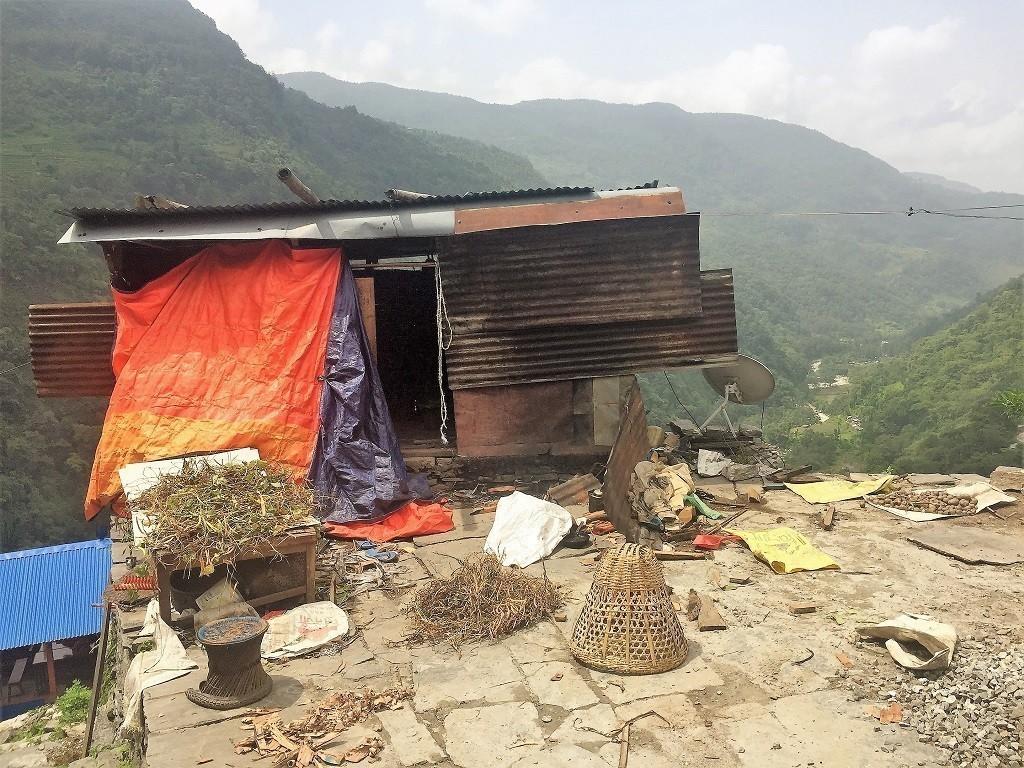 Urige und alte Hütte