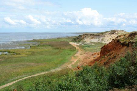Ausblick Morsum Kliff