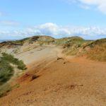 Sand am Morsum Kliff