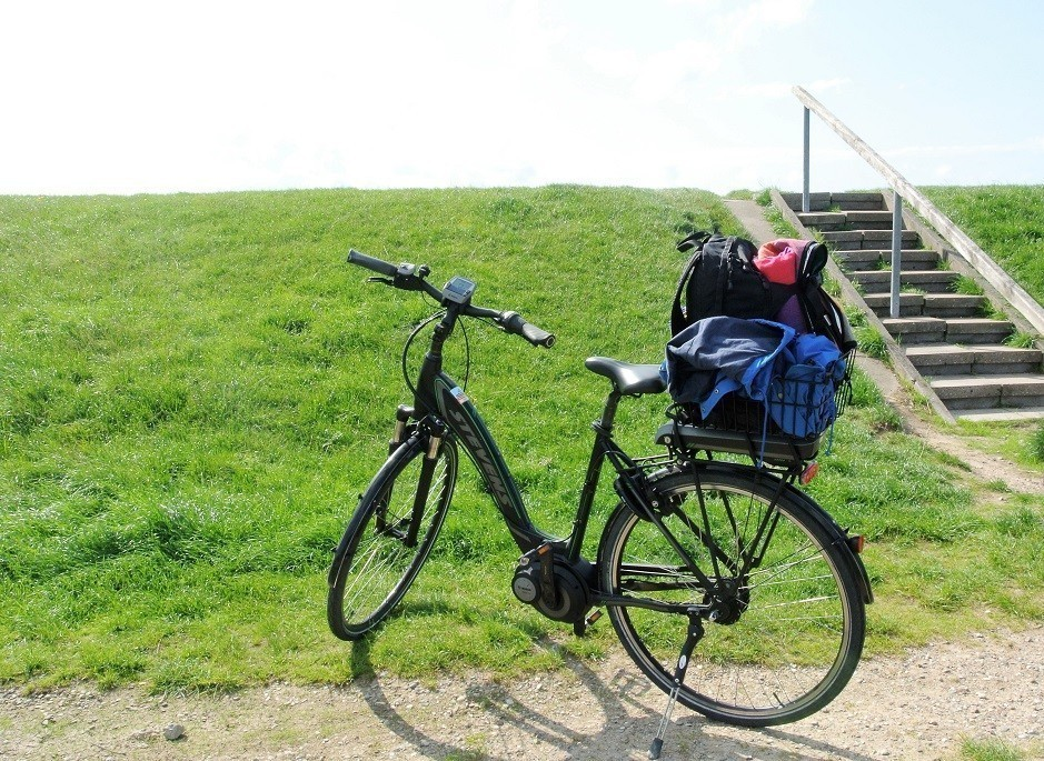 Fahrrad E-Bike auf Sylt